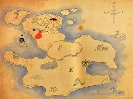 Pirates Map Treasure Map Wallpapers Group 58