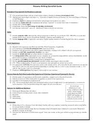 Best Resume Ever Seen certifications on a resume certification on resume example