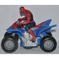 toys r us motocross bikes spiderman on the super moto bike cool toy youtube