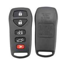 nissan rogue key fob battery replacement as027021 replacement 4 1 panic 5 buttons car key case for nissan