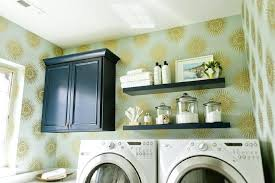 How To Install Wall Cabinets In Laundry Room Cabinets To Go Between Washer And Dryer Laundry Room Countertop