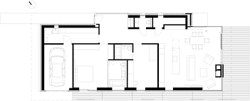 146 m2 modern two bedrooms house concrete rectangular architecture modern two bedroom house plan with garage layout idea