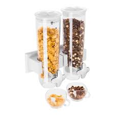 wall mounted dry food dispenser cereal dispenser wall mounted cornflake dispenser 3 l muesli