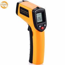 thermometre cuisine laser sans contact ir infrarouge température numérique gun thermomètre