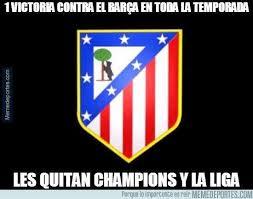 Chions League Meme - los mejores chistes y memes del barcelona atlético madrid