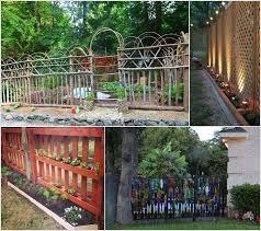 Ideas For Fencing In A Garden 10 Creative See Through Fence Ideas For Your Garden