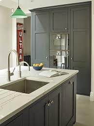 Black Shaker Kitchen Cabinets Grey Black Shaker Kitchen Cabinets And Island With Grey White