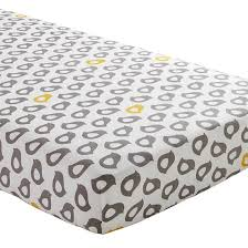 Crib Mattress Sheets The Land Of Nod Baby Sheets Grey Fitted Crib Sheet In