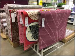 carpet ikea un kinking carpet display at ikea fixtures close up