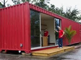 home design 37 simple modular shipping containers homes with red