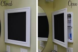 diy framed chalkboard medicine cabinet jenna burger