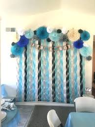 backdrop for baby shower table baby boy decorations extraordinary baby boy shower decoration