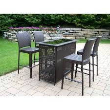patio furniture bar stools and table wicker patio bar set outdoor wicker bar stools swivel seslinerede com