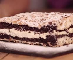 chocolate meringue mont blanc cake recipe bbc good food