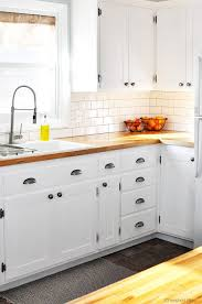how to turn kitchen cabinets into shaker style kitchen hack diy shaker style cabinets cherished bliss