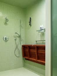 Teak Folding Shower Bench Folding Shower Bench Contemporary Bathroom