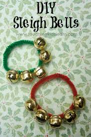 diy christmas sleigh bells simple christmas craft and sunday