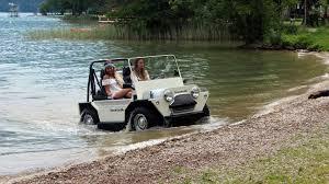amphibious truck for sale france u0027s amphibious mini moke is no joke