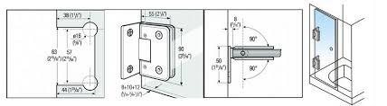 Shower Door Hinges Glass Shower Door Hinges For Building Project Glass Shower Door