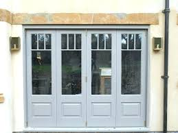 Interior Bifold Doors With Glass Inserts Bifold Doors With Glass Doors White