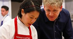 Christine Blind Masterchef Gordon Ramsay Makes Blind Chef Cry And It U0027s Rather Lovely