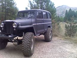 jeep station wagon lifted the official