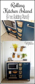 kitchen island wall custom diy rolling kitchen island daydream