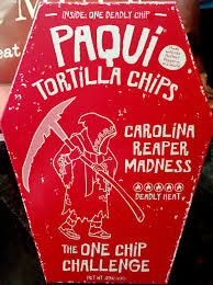 Challenge Deadly Review Paqui Tortilla Chips The One Chip Challenge Carolina