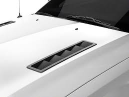 cheap mustang hoods mmd mustang vent louvers matte black 71334 99 05 12 gt v6