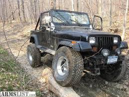 1987 jeep wrangler yj armslist for sale trade 1987 jeep wrangler yj