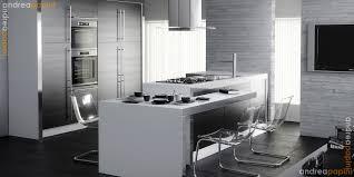 white gloss kitchen designs amazing white kitchen design with white brick walls 3874