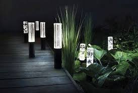 Solar Led Lights For Outdoors Exterior Design Contemporary Outdoor Lights Design With