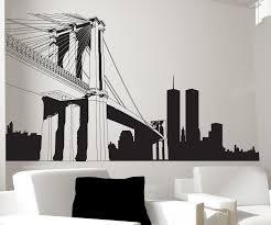 vinyl wall decal sticker nyc brooklyn bridge new york 334