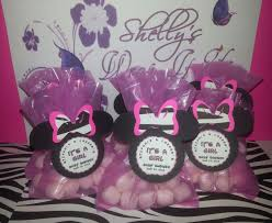 minnie mouse baby shower ideas decorations themes invitations