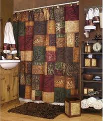 cabin rustic lodge shower curtains cabin 9 design western themed