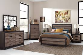 dominique gray 5 pc queen panel bedroom 988 00 find affordable