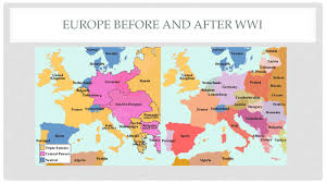Ww1 Map Ch 25 Imperialism Alliances And War Europe Before And After