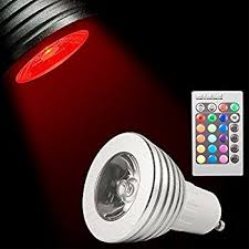 color changing light bulb with remote xcsource 3w gu10 16 colors changing rgb led light bulb remote