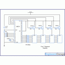 electronic voting machine project with circuit using 8051