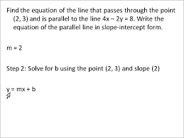 parallel and perpendicular line problems simplifying math