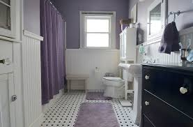 Blue And White Bathroom Accessories by 23 Amazing Purple Bathroom Ideas Photos Inspirations