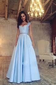 blue graduation dresses two prom dress a line graduation dress sky blue prom gown
