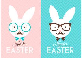free easter bunny vector u2013 happy easter 2017
