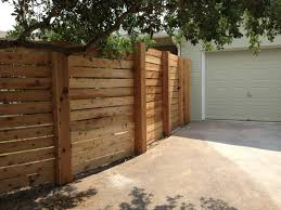 popular horizontal privacy fence how to design horizontal