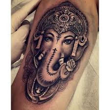 ganesha tattoo on shoulder 50 beautiful ganesha tattoo designs and ideas with meaning