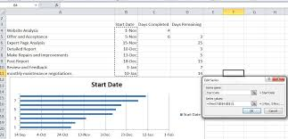 excel tips tutorial how to make gantt chart in microsoft excel