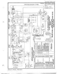 zenith floor plan zenith radio corp 9s263 antique electronic supply