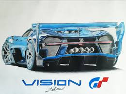 bugatti drawing bugatti vision gt tek drawing draw to drive