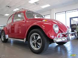 volkswagen beetle 1967 1967 poppy red volkswagen beetle coupe 77555664 gtcarlot com