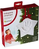 great deals on tiny idea s baby handprint or footprint ornament